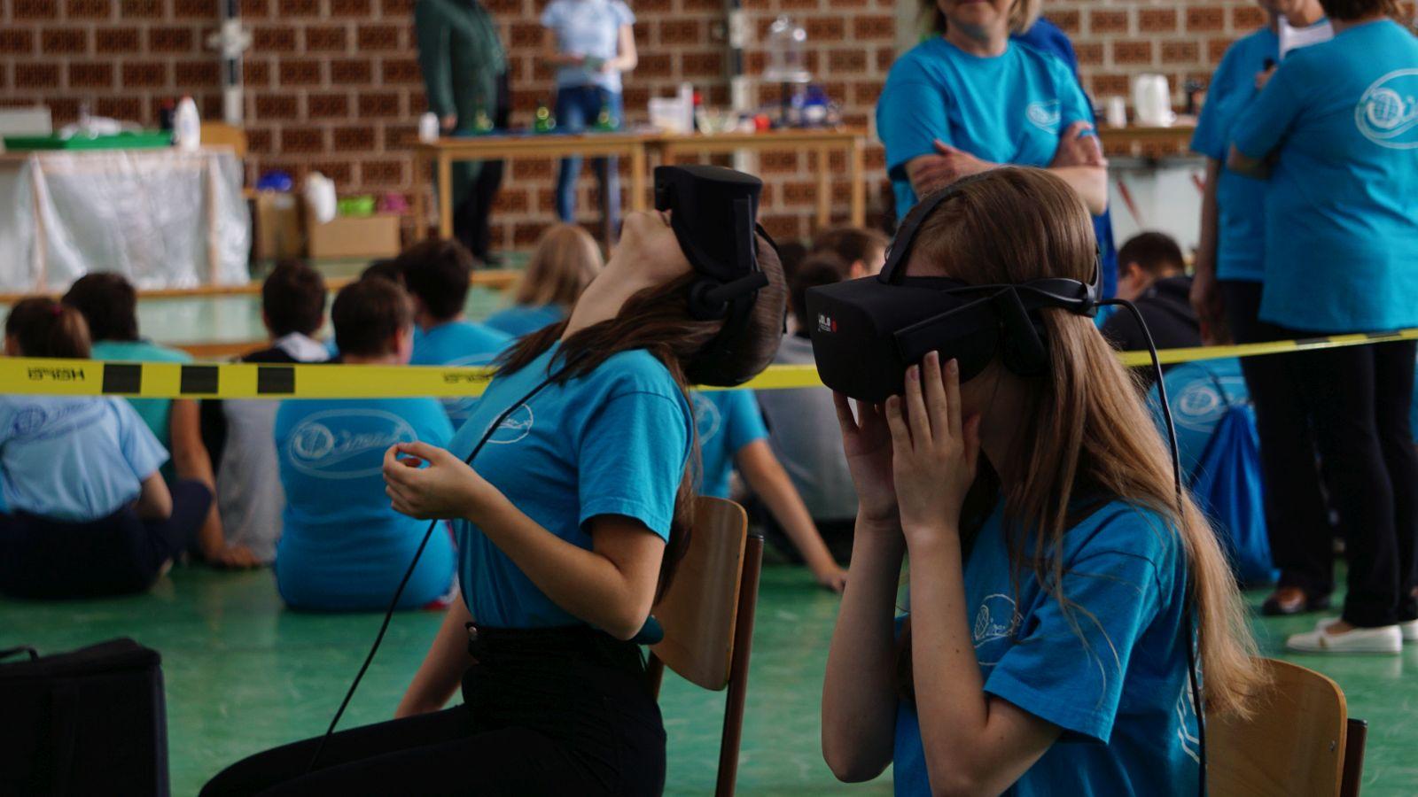 Holofedélzet - Iskolai VR kitelepülés