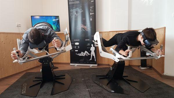 Holofedélzet - ICAROS VR repülés