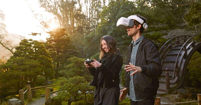 Holofedélzet Drón + VR
